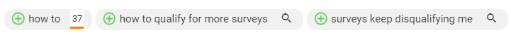 TubeBuddy recommendations: how to, how to qualify for more surveys, surveys keep disqualifying me